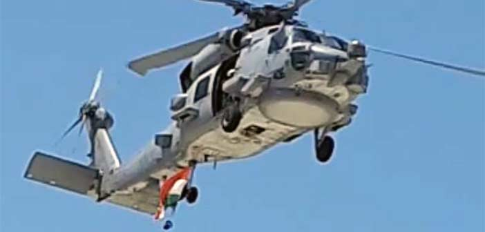 Indian Navy MH-60R Helicopter. Lockheed Martin, US Navy, Sikorsky.
