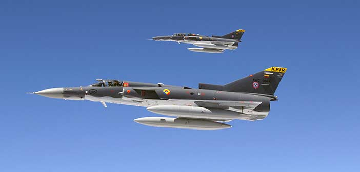 IAI Sri Lanka Air Force Kfir Jet