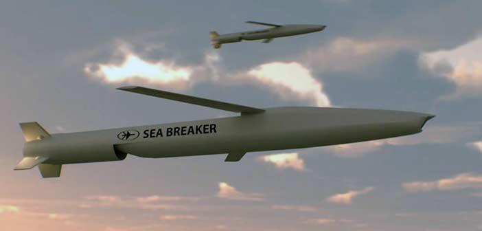 Rafael Sea Breaker Missile