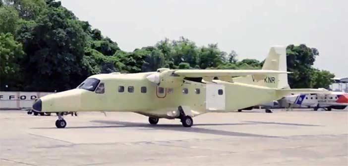 HAL Hindustan-228 Aircraft. Dornier-228 Aircraft, India