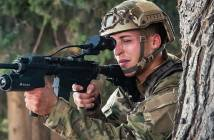 Elbit Systems ARCAS AI-Powered Assault Rifle Targeting System.