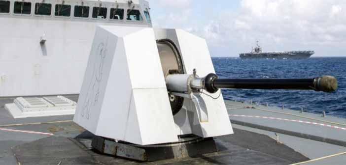 Indian Navy SRGM Gun BHEL.