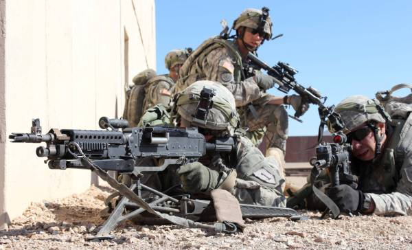 United States Army Infantry Combat