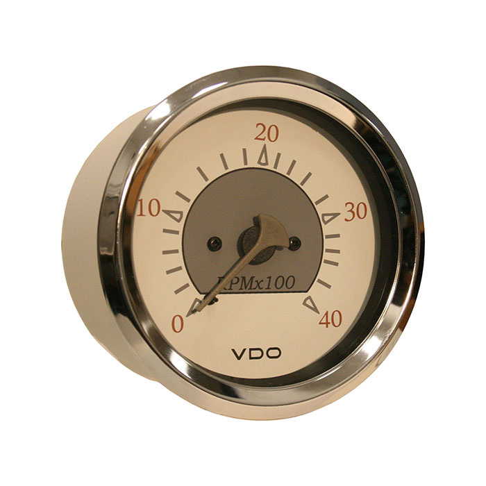 vdo tachometer with hour meter wiring diagram 2003 ford expedition fuel pump marine tachometers defender allentare programmable illuminated