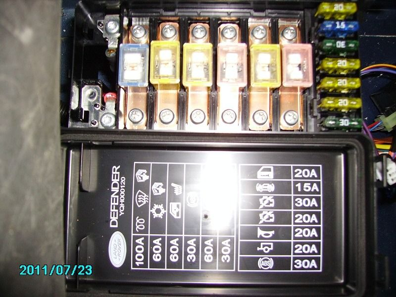 Air Horn Relay Wiring Defender2 Net View Topic Electrical Problem With A Td5