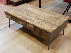 Table basse Steel