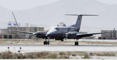 The last U.S. Air Force C-12 Liberty - was transferred in July 2010 to support the U.S. Forces in Afghanistan