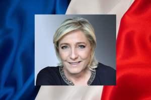 Marine Le Pen candidate du Front national à l'élection présidentielle de 2017