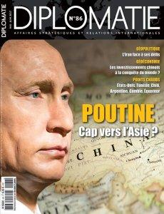 Diplomatie 86 mai-juin 2017 Poutine : cap vers l'Asie ?