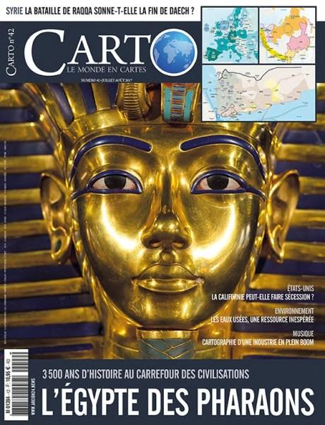 Carto 42 - juillet-août 2017 - L'Égypte des Pharaons
