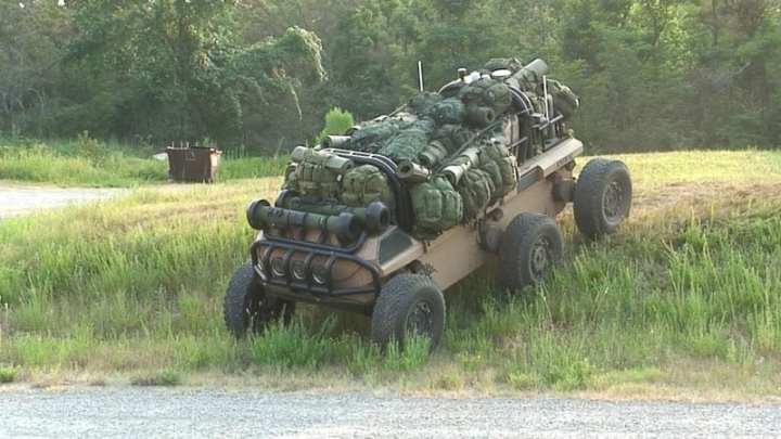Multifunctional Utility/Logistics and Equipment (MULE) photo courtesy of U.S. Army