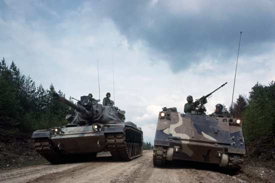 M60 Patton and M113