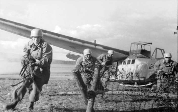 Image result for German DFS 230 Assault glider