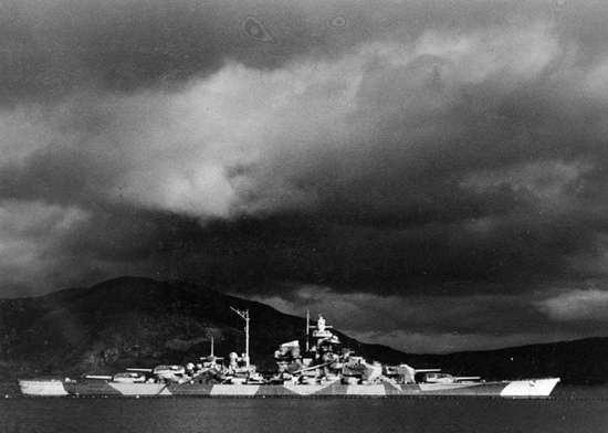 Tirpitz Alta Fjord