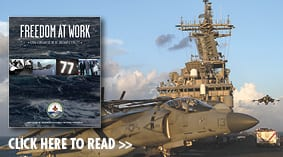 Freedom at Work - USS George H.W. Bush, CVN77