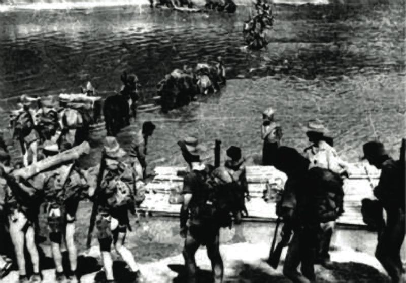 Chindits River Crossing