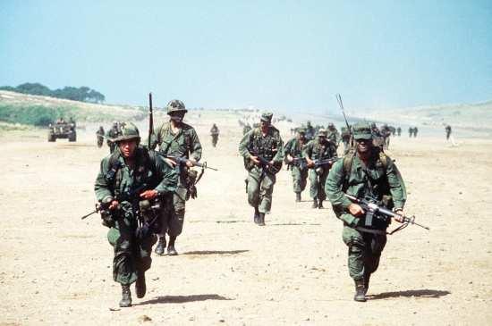 Rangers on Grenada
