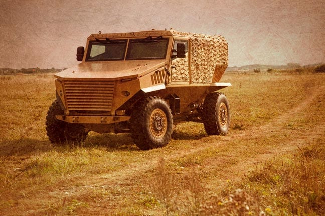The Force Protection Ocelot. Photo courtesy of Force Protection, Inc.