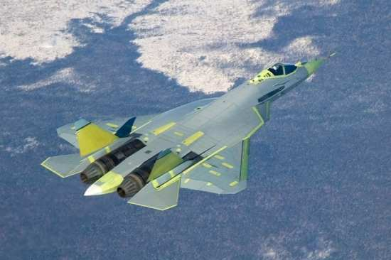 Flight testing of Sukhoi's T-50 PAK FA aroused interest from nations such as India and alarm among many Western military analysts and milbloggers. Photo courtesy of Sukhoi.