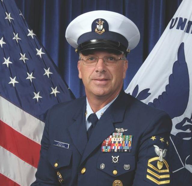 MCPOCG Michael P. Leavitt is the U.S. Coast Guard's 11th master chief petty officer of the Coast Guard. USCG photo