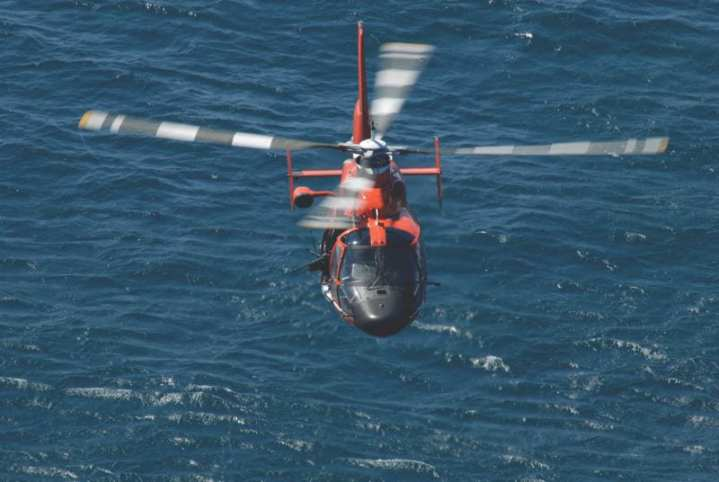 HH-65 Dolphin U.S. Coast Guard District 7