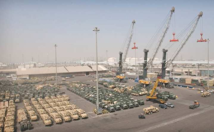 Port of Shuaiba Kuwait