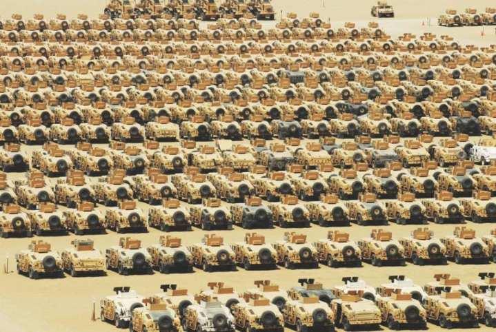 MRAP R2TF Camp Arifjan Kuwait
