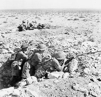Australians At Tobruk