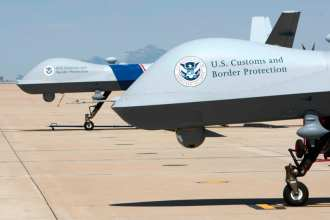 CBP Predators on the flight line