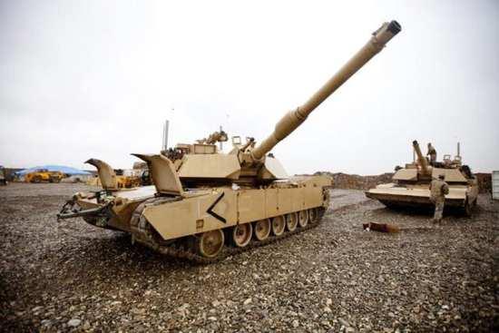 U.S. Marine Corps M1A1 Abrams