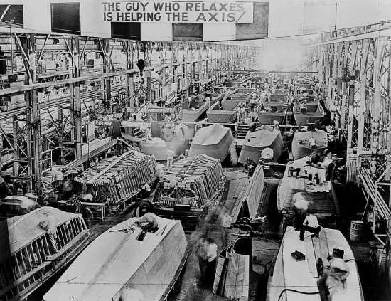 Higgins Boat Factory