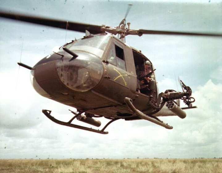 UH-1B Iroquois Vietnam