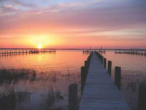 Military retirement in Chesapeake Bay
