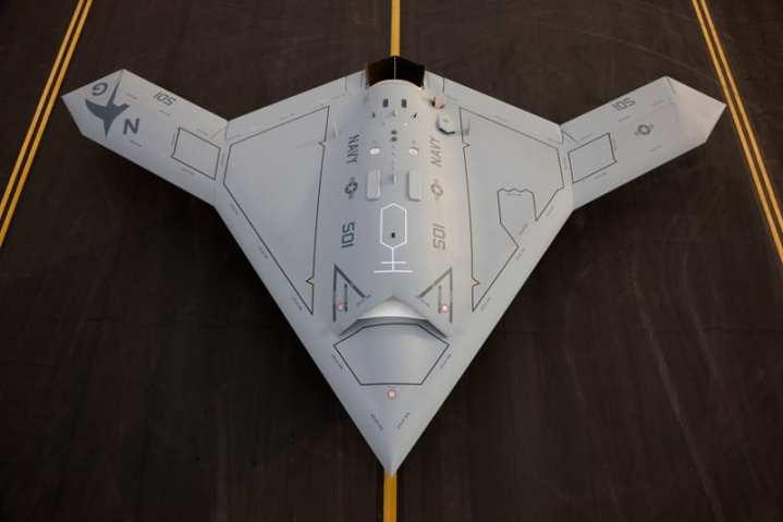 X-47B UCAS-D