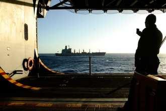 Camera phone aboard USS Bataan