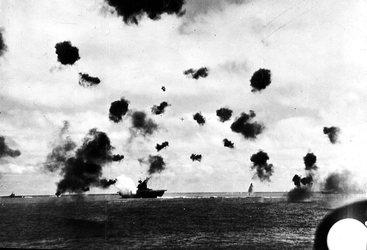 Yorktown Is Torpedoed