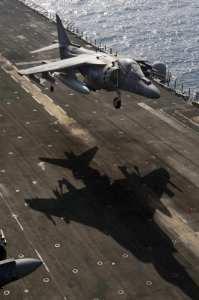 AV-8B Harrier VMM 162 USS Nassau