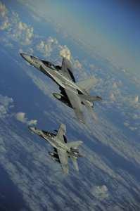 RIMPAC 2010 F/A-18 Hornet Marine