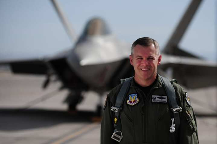 "Col. Robert ""Shark"" Garland, Commandant, USAF Weapons School"