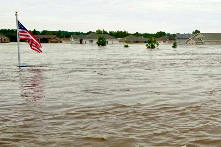 Minot N.D. flooding