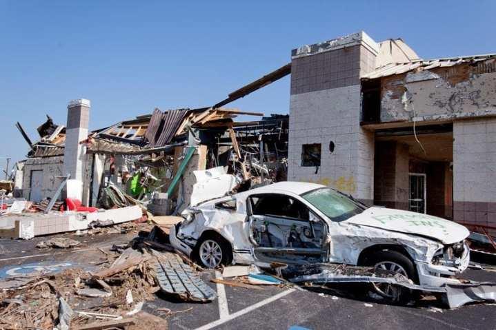 Joplin, Mo., after tornado