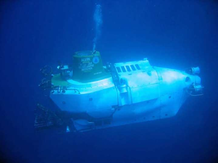 Alvin, deep diving submarine