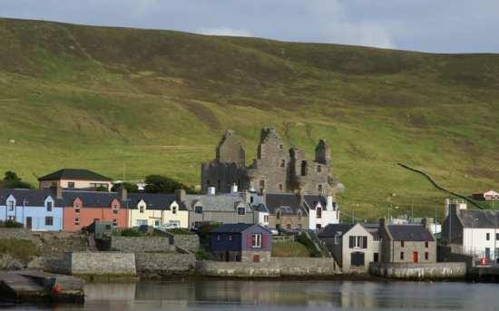 Shetland Bus base, Scalloway, Shetland Islands