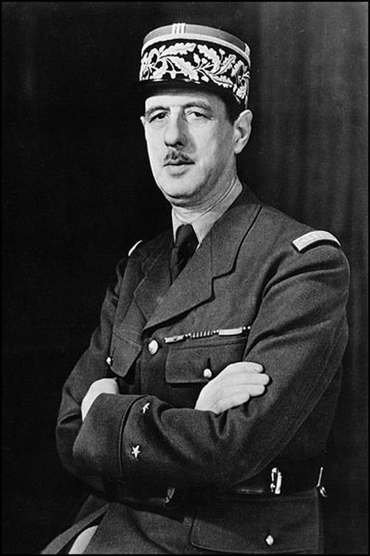 Charles de Gaulle in 1942