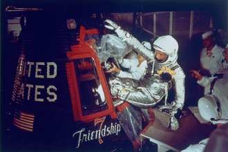 Astronaut John Glenn Friendship 7