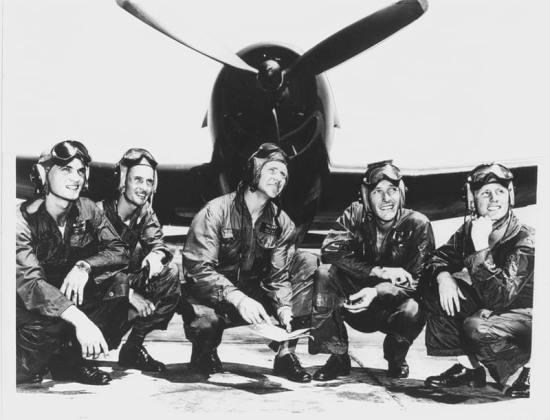 Blue Angel Flight Demonstration Squadron F6F Hellcats