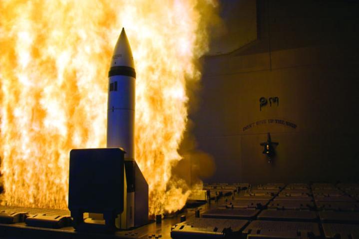 Standard Missile 2 (SM-2) Block IV interceptor