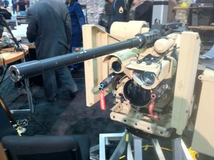 Green Eyes on CROWS, AUSA 2011