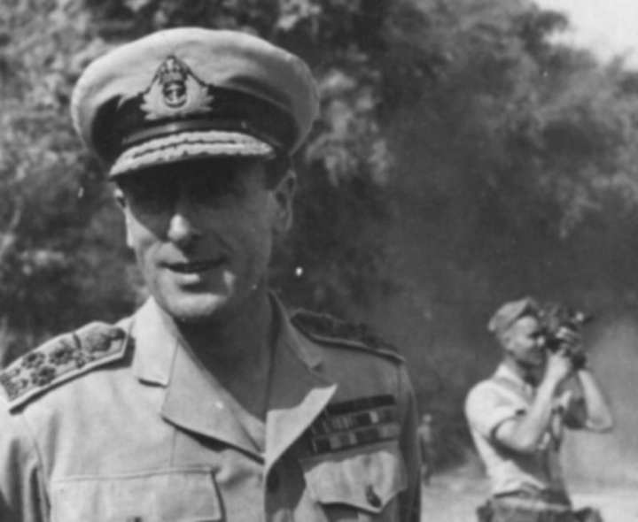 Mountbatten as an admiral and supreme allied commander, Southeast Asia Command