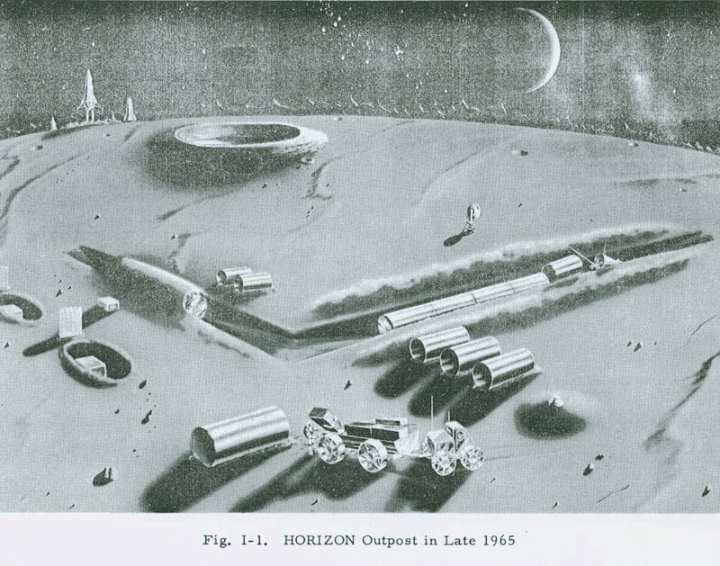 Project Horizon, the Army's proposed moonbase